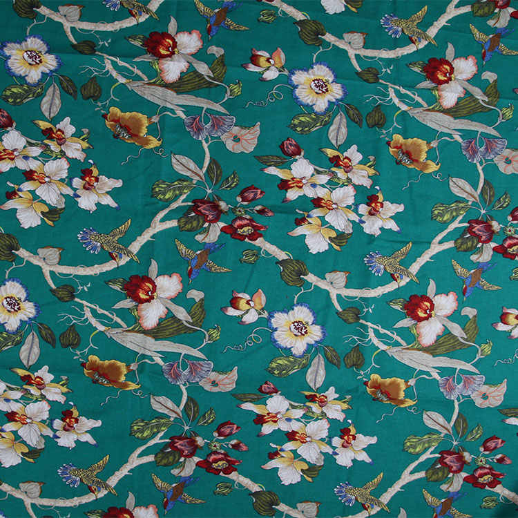 Diy artesanía algodón Lino tela rama primavera restauración costura Patchwork Tissus 50x145 cm