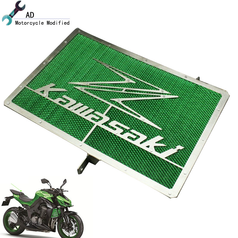 For Kawasaki Radiator Grille Guard Z1000 Z1000SX Z750 ZR800 Z800 Protector Grill Cover Motor bike Moto Motorcycle Motorcross ! motorcycle radiator grille grill guard cover protector golden for kawasaki zx6r 2009 2010 2011 2012 2013 2014 2015