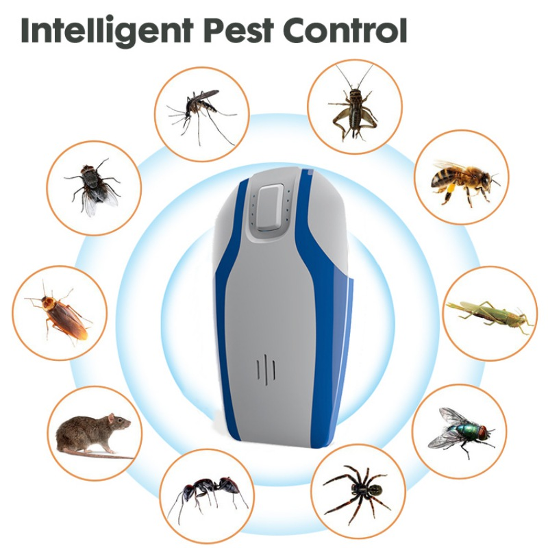 Pest Control Ultrasonic Repeller Electronic Plug Pest Repellent for Insects Mosquitoes Mice Rat Roaches Bugs Flies Spider RodentPest Control Ultrasonic Repeller Electronic Plug Pest Repellent for Insects Mosquitoes Mice Rat Roaches Bugs Flies Spider Rodent