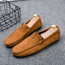 Men Loafers Shoes Soft Comfortable Men's Flats Lazy Shoes Moccasins Casual Footwear Male Driving Shoes Slip On Drop Shipping sho ubfen 2017 hot sale casual shoes for men handmade slip on comfortable and soft fashion classic loafers male lazy driving shoes