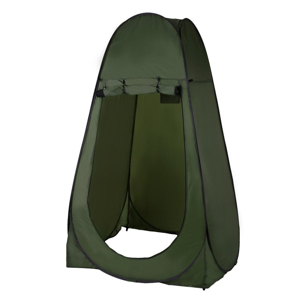 Portable Outdoor Pop Up Tent Camping Shower Bathroom Privacy Toilet Changing Room Shelter Single Moving Folding Tents drop shipp brand 24l portable mobile toilet potty seat car loo caravan commode for camping hiking outdoor portable camping toilet