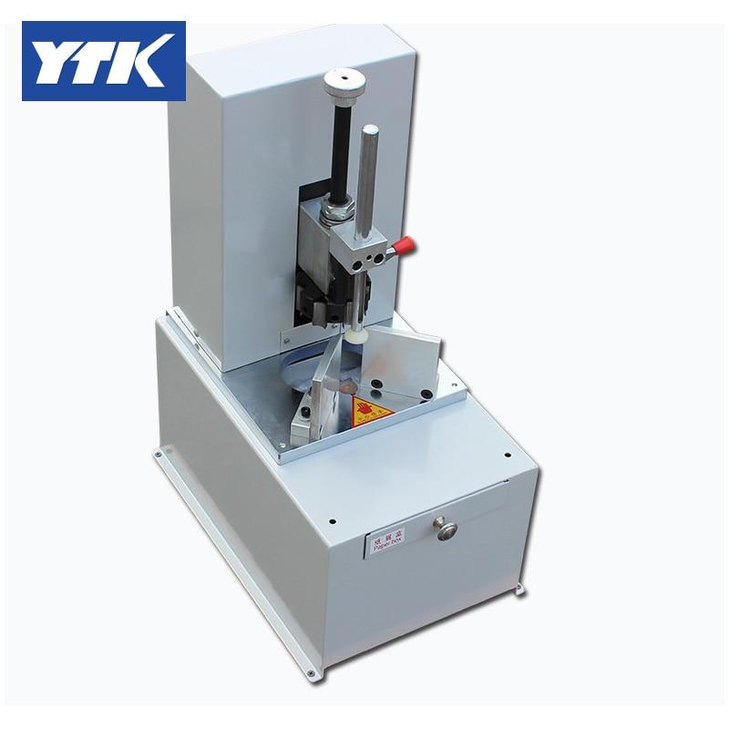 YTK Electric round corner machine,round corner cutter machine