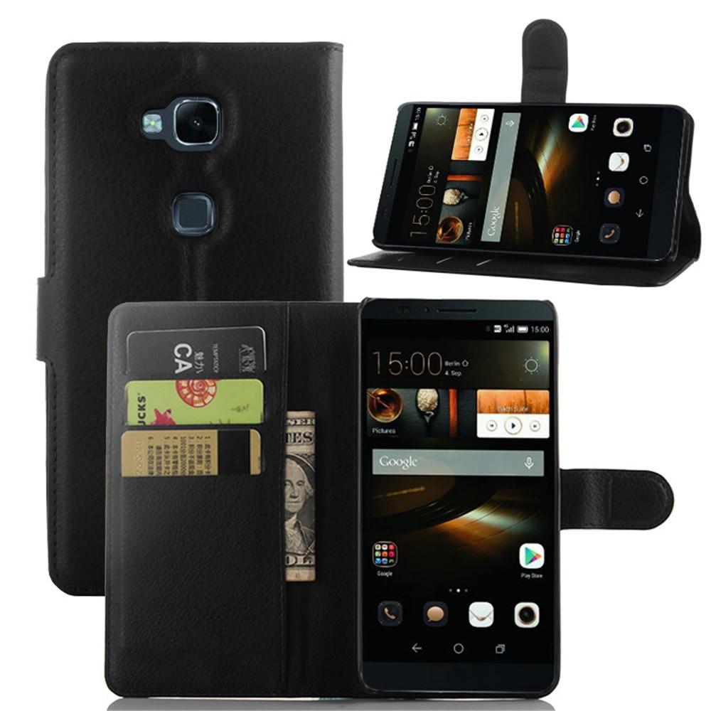 Top Brand Penutup Belakang Telepon Mewah Ultra Tipis Kulit Ibacks Acta Royal For Iphone 7 Plus Hitam Untuk Huawei Mate7 Mini D3 Ponsel Kasus Magnetic Balik Pemegang Kartu Cover