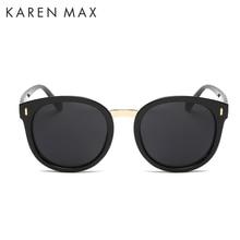2017 Rushed Sale Women Adult Karen Max What Moda Olho De Gato Mulheres Oculos Sol Classico Marca Designer Luxo Shades Uv400 282