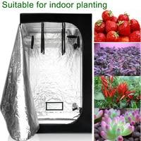 Black&White 600D Oxford Cloth indoor Grow tent 100x100x180cm