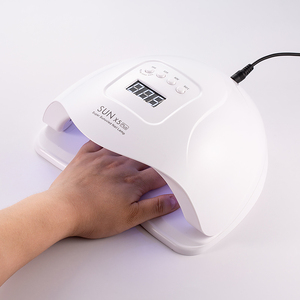 Image 1 - Chhenye sunx5plus 80 w lâmpada uv para secador de unha, esmalte de gel, lâmpada para manicure com sensor lâmpada de gelo, ferramentas para unhas