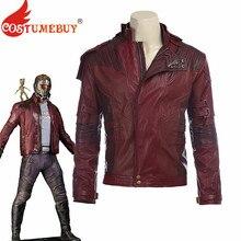衣装 レザージャケットコート スター主ピーター羽ショートジャケットコスプレハロウィン衣装の守護者銀河 CostumeBuy