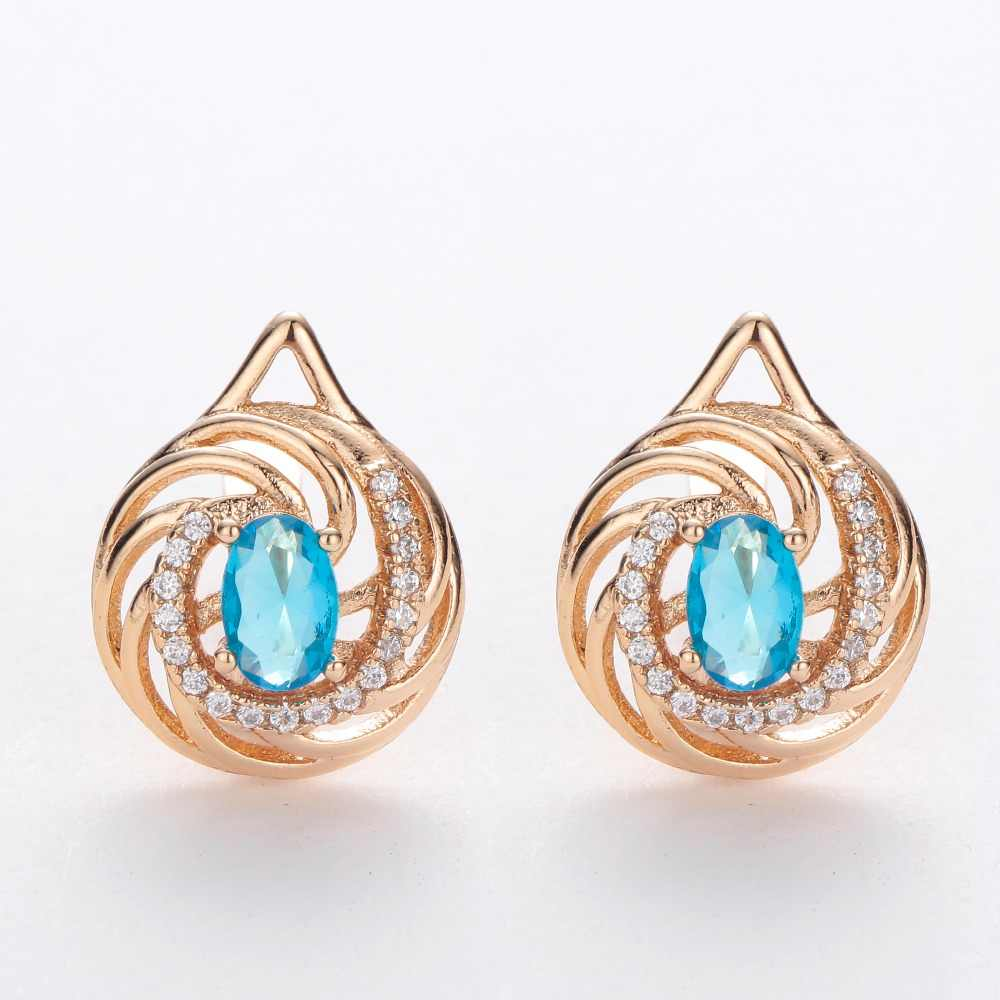 3a43accdb Detail Feedback Questions about HANRESHE Blue Red Stone Ellipse ...