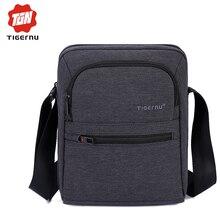 2017 Tigernu Brand High Quality Men 's Messager Bag Mini Business Shoulder Bags  Casual Summer Bag Women Cross body Bag Male