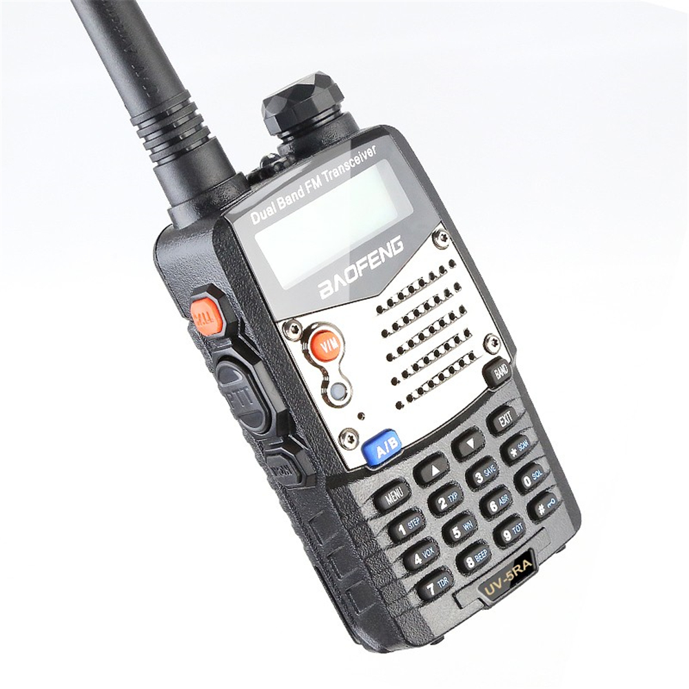 Image 4 - Baofeng UV 5RA Walkie Talkie 5W High Power Dual Band Handheld Two Way Ham Radio UHF/VHF Communicator HF Transceiver Security Use-in Walkie Talkie from Cellphones & Telecommunications