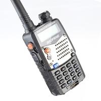 "uhf dual Baofeng UV-5RA מכשיר הקשר 5W High Power Dual Band כף יד שני הדרך Ham Radio UHF / השתמש אבטחה מקמ""ש HF Communicator VHF (4)"