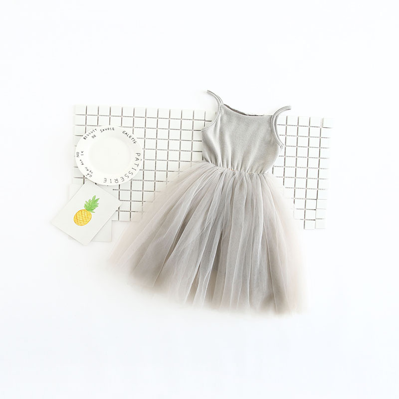 2017-spring-new-small-girls-100-cotton-matching-mesh-net-yarn-childrens-clothing-summer-dress-3
