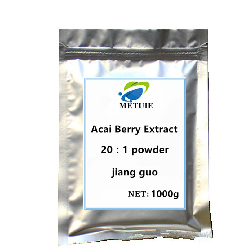 Acai berry extract powder festival glitter supplement Improved digestion High protein boosts your Immune system better sleep image