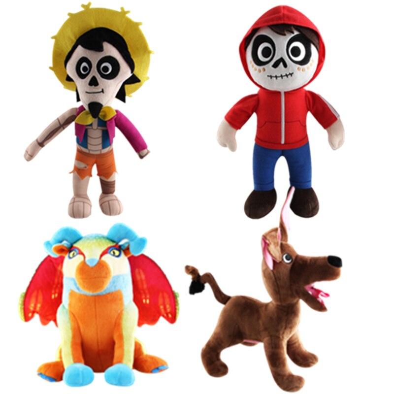 Aliexpresscom  Buy Disney Hot Cartoon Movie Coco Pixar New Plush Toys 25 30Cm Miguel -1432
