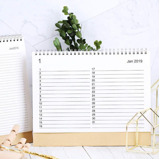 online shop 2019 table calendar agenda 2018 weekly planner monthly