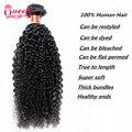 Brazilian Kinky Curly Virgin Hair Brazilian Hair Unprocessed Brazilian Virgin Hair Cheap Kinky Curly Hair Weave 1 Bundle 50g/pc