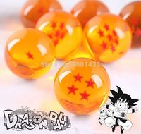 Dragon Ball Z 1set 4 5CM DragonBall 7 Stars Crystal Ball Set Of 7 Pcs Dragon