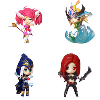 One Piece LOL NAMI LUX ASHE KATARINA PVC Action Figure Model Toy Gift High Quality Kids