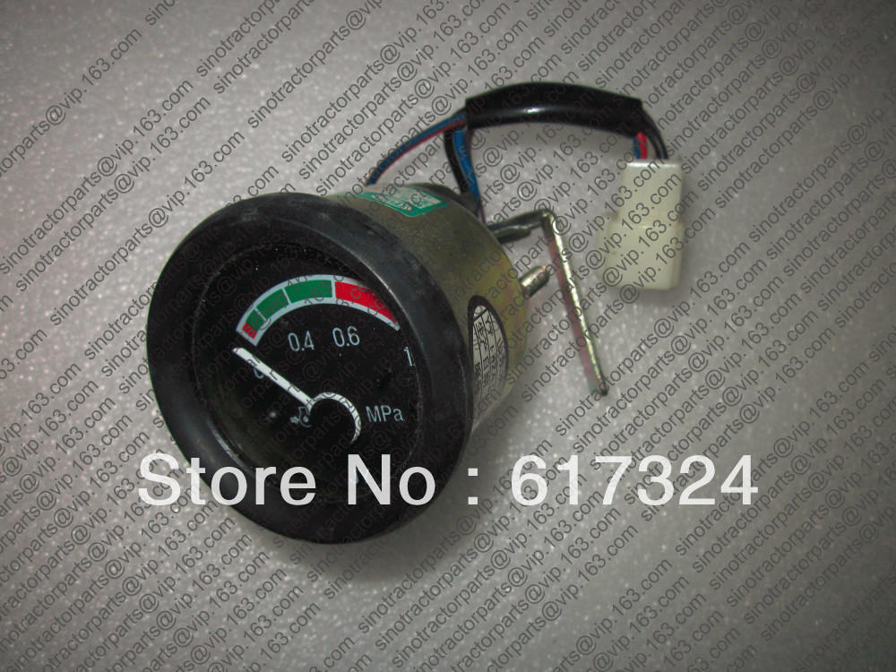 oil pressure gauge, the moving maganetic type for different model tractors  цены