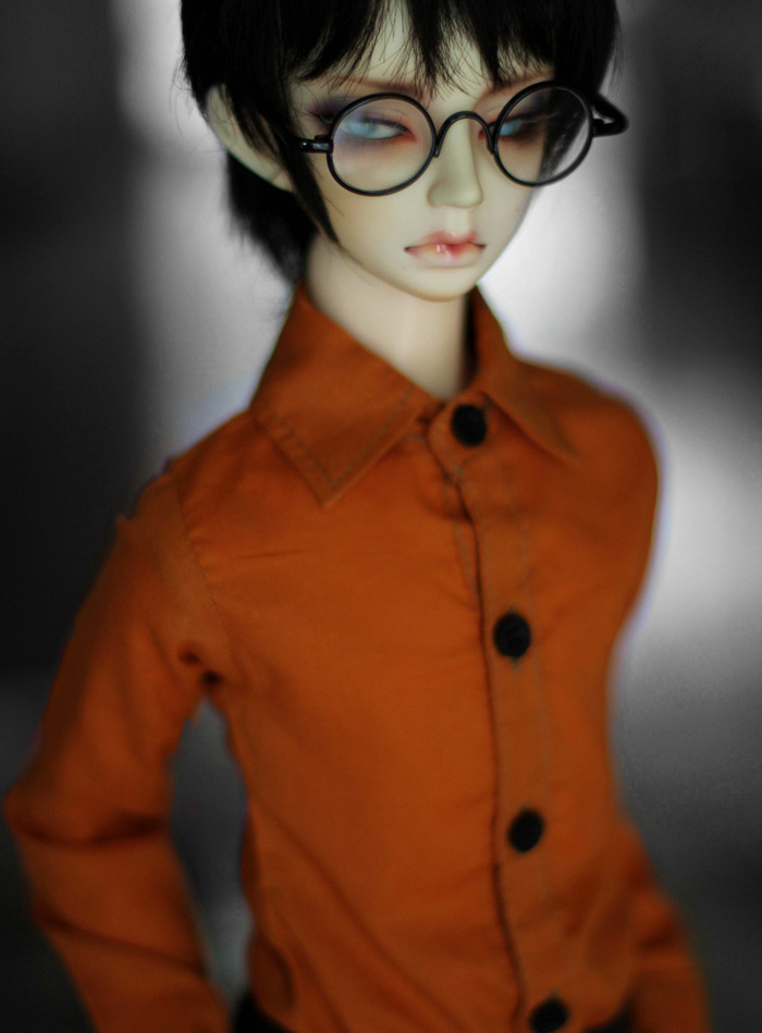 1/3 1/4  BJD SD Doll  accessories doll clothes orange shirts beioufeng 1 3 1 4 1 6 sd bjd doll clothes include shirts black skirt and tie student uniform bjd clothes for dolls accessories