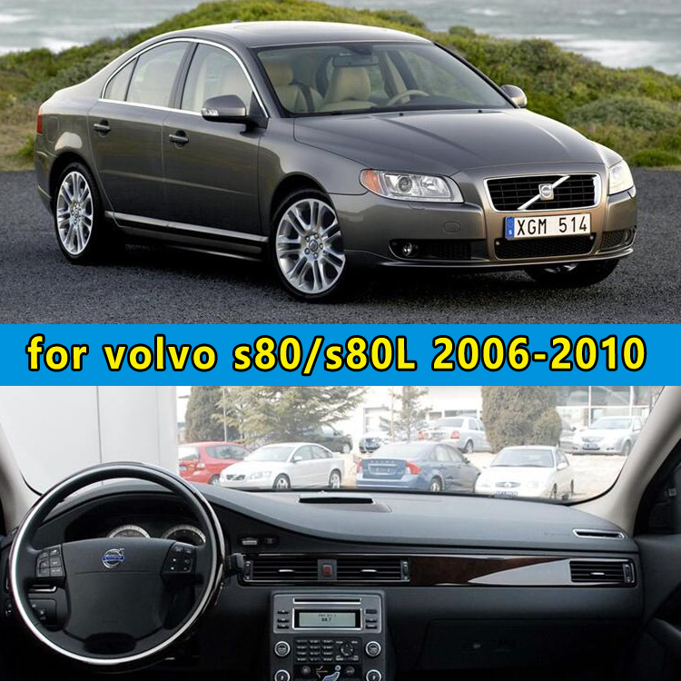 dashmats car-styling accessories dashboard cover for volvo s80 s80l 2006 2007 2008 2009 2010 2011 2012 2013 2014 2015 2016 2017 цена