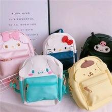 5e53e0225fd14 Cartoon anime My Melody Hello Kitty Duże Uszy Cinnamoroll dog fashion plecak  PU Dla dzieci Prezent