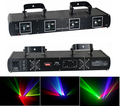 4 Lens RGYP Color Stage Laser Light for Disco DJ Party NightClub Pub KTV Professional show lighting DMX laser lights Projector