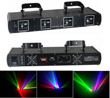 AOBO Lighting 4 Lens RGYP Color Laser Light for Disco DJ Pro Party Stage Club Lazer