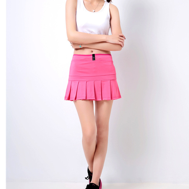With you Women short tennis skirt obviously were