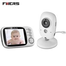 Fuers 3.2 cal Kolor Baby Monitor Bezprzewodowy Wideo Wysokiej Rozdzielczości Aparat Bezpieczeństwa Dziecka Niania Night Vision Monitorowanie Temperatury