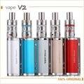 Original Joyetech Evic Aio Kit 75 w e Cigarro kit e cig caixa mod com 2.5 ml CE Tanque Vaporizador 0.5ohm bobina QCS Notch bobina