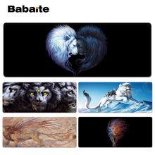 Babaite Non Slip PC Fantasy Lion Beautiful Anime Lockedge Mouse Mat Size for 30x90cm 40x90cm Speed Mouse Pad