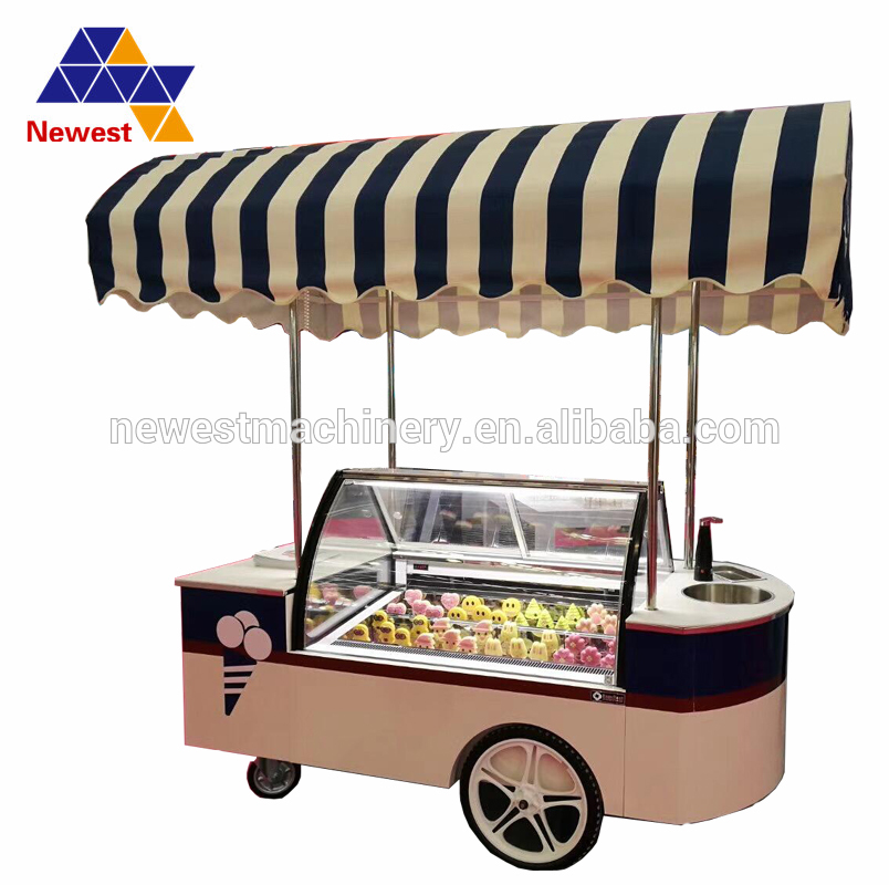 New deisgn french fries food truck/fry ice cream roll cart/cart ice cream cart форма для нарезки арбуза
