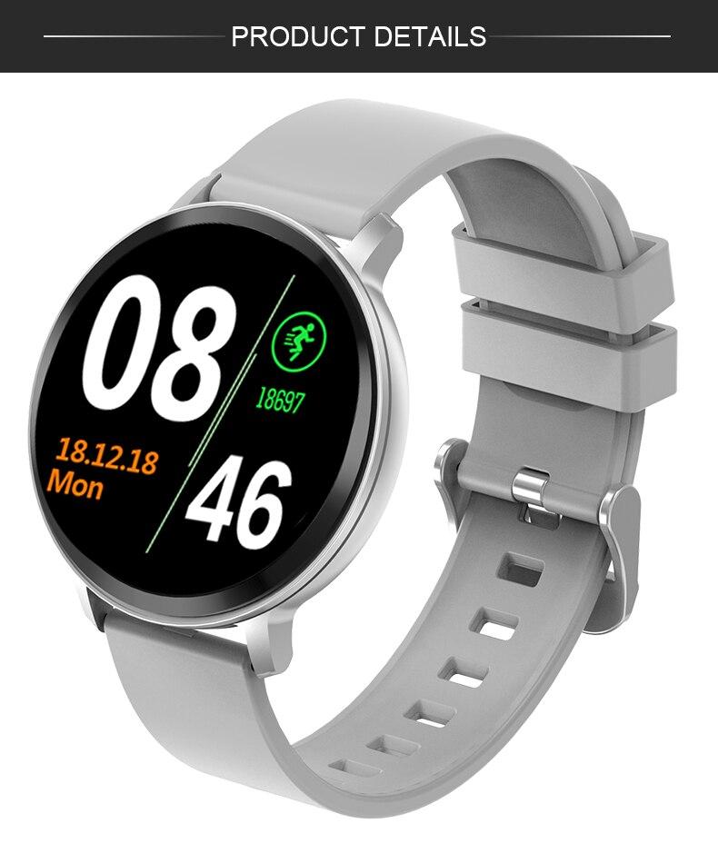 Montre intelligente Android ios pour femme 12