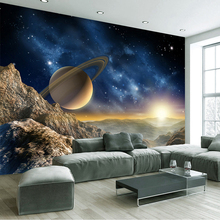 3D Custom Size Wallpaper Space Universe