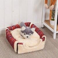 Pet Dog Cat Bed House Warm Soft Mat Bedding Igloo Basket Kennel Washable Snug 10.24