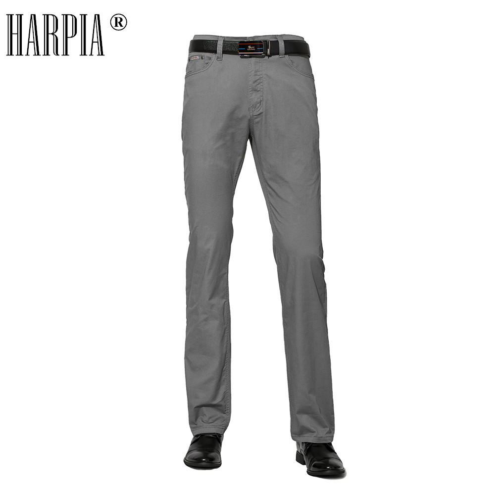 Harpia Men Clothes 2018 Male Trousers Mens Summer Cotton Pantaloni Uomo Casual Slim Straight Big Size 8xl Business Long Pants