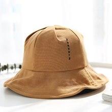 Personalidad de la moda sombrero del cubo Art Letters pescador Cap para  hombres mujeres al aire libre Casual visera del sombrero. c5e01751374