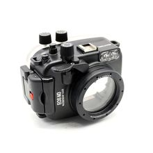 Meikon 40m/130ft waterproof case for Canon EOS M3 (22mm Port) Underwater Camera Housing meikon 40m wp dc44 waterproof underwater housing case 40m 130ft for canon g1x camera 18 as wp dc44