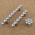 Sólida Alça de Diamante Grande de Vidro K9 de Cristal Moderna Europeia-estilo Único Cristal Maçanetas de Gaveta e Puxar Hardware Gabinete Doméstico
