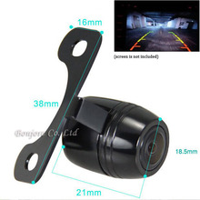 цена на Hot Waterproof 170 degree Wide Angle CCD Night Vision Car Reverse Camera Rearview Backup Color Parking Camera ,FAST Shipping