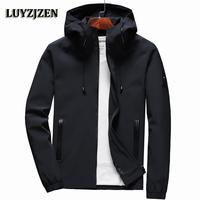 Jacket Men Zipper 2018 New Arrival Casual Solid Hooded Jacket Fashion Men S Outwear Slim Fit