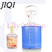 Manual Vacuum Pickled Machine Vacuum Food Tumbling Marinator Household Tumbler Portable Pickled Marinate Meat Vegetable Machine