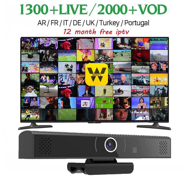 [WeChip] HD3S 1.0MP caméra S905X 1 GB 8 GB Android 6.0 OTA Smart TV Box 100 support LAN à 1080 P sortie/4 K HD lecteur multimédia IPTV