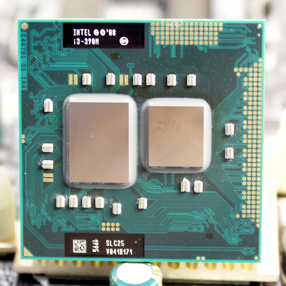 Intel Core  I3 390M I3-390M 3M Cache 2.66 GHz Socket G1  Laptop Notebook Cpu Processor Free Shipping