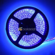 DC12V 5M 3528 SMD 120led/m 600 Leds Ultraviolet UV 395-405nm Purple Waterproof Flexible LED Strip Light Free Shipping