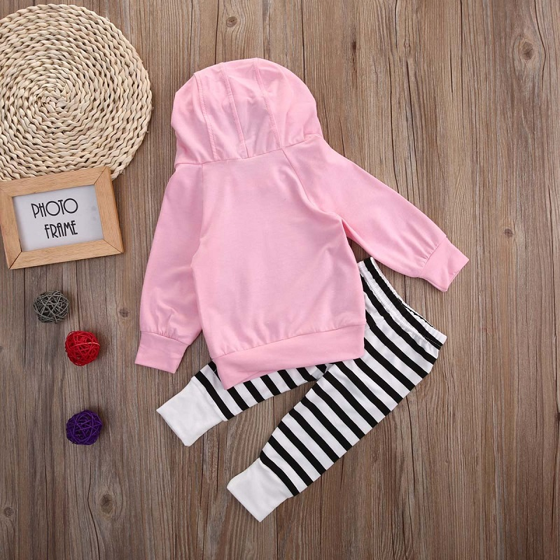 Pigs-Baby-Girls-Kids-Sweatshirt-TopsStriped-Pants-2pcs-Outfits-Tracksuit-Set-Pink-Spring-Autumn-Hoodies-4
