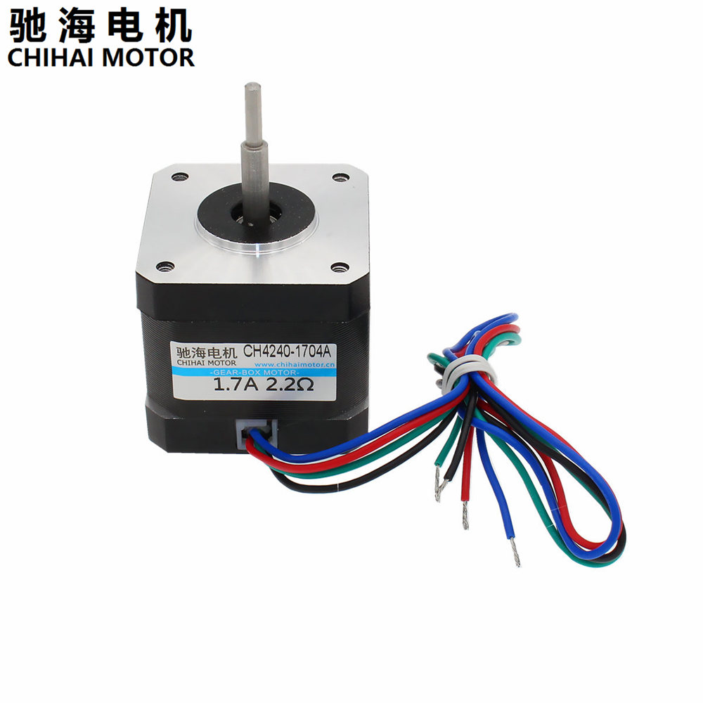 Chihai Motor Ch4240 1704a 2 Phase 4 Wire Stepper 42mm 17a 22 Diagram 22ohm 3d Printer And Cnc Xyz In From Home Improvement On