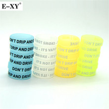 E-XY Noctilucent Silicon Vape Ring 22mm Non-Skid  Silicone Ring Electronic Cigarette For 22mm Mechanical Mods  Accessories