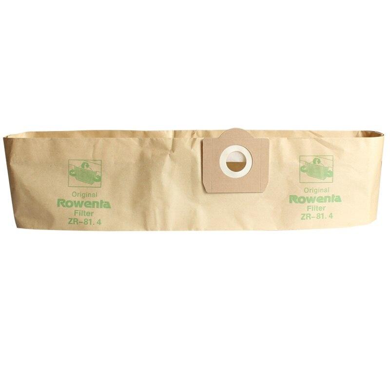 Galleria fotografica Il trasporto libero 6 pz Carta sacchetti di polvere adatto per ROWENTA ZR81 ZR814 ZR82 Karcher A2700 <font><b>Hoover</b></font> H31 S6145 19L filtro borse